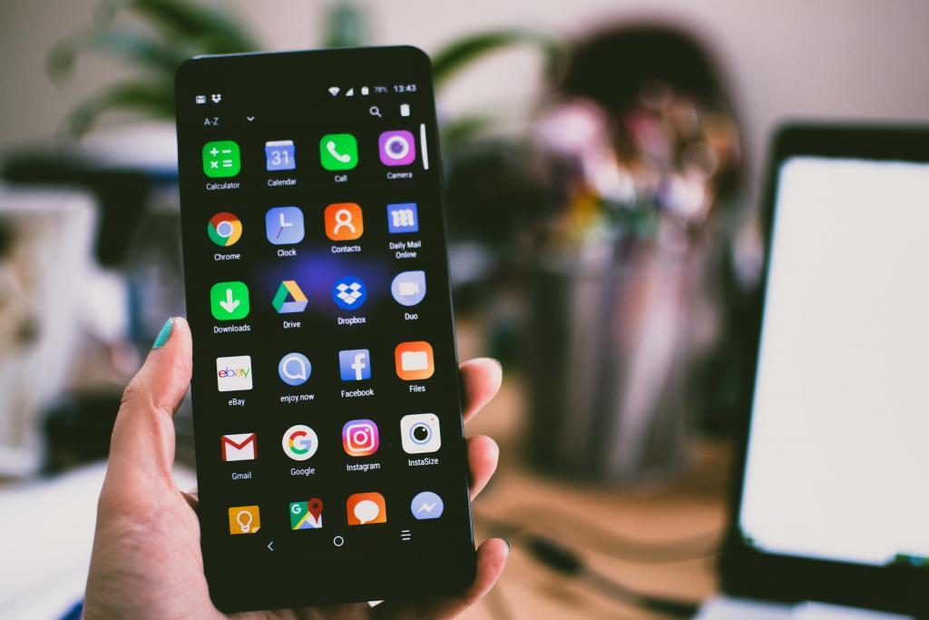Mobiele Android Apps, Android Smartphone