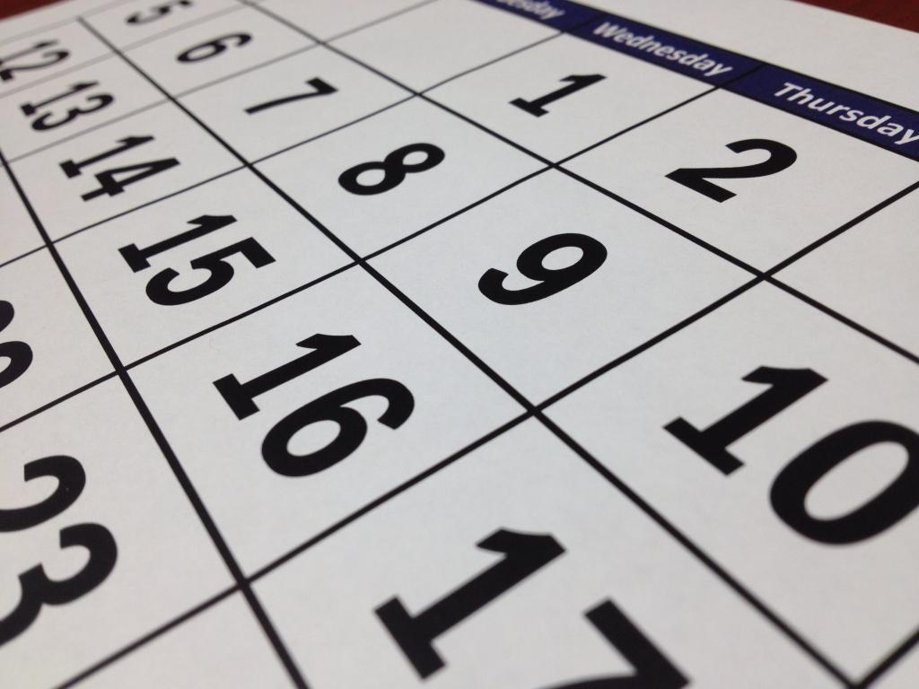 Content marketing kalender