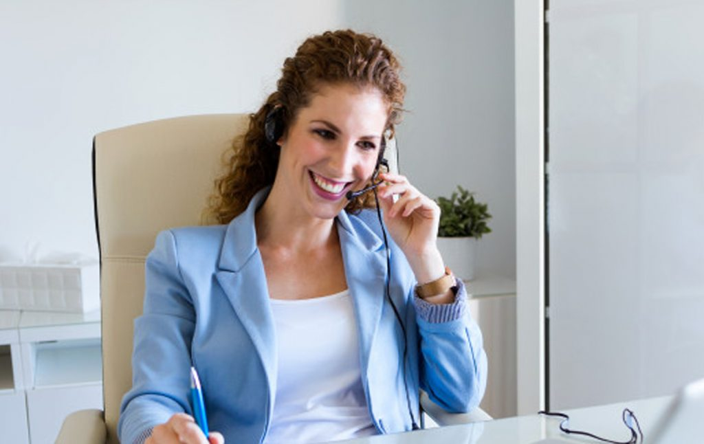 Telemarketing. Een vorm van outbound marketing.