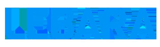 Logo van telecombedrijf Lebara